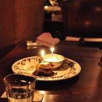 デリツィオーゾ イタリア - 隣席のお誕生祝い