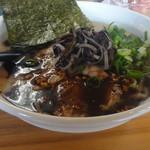 博多拉麺 KAZU - 黒とんこつ大盛り800円