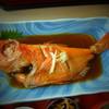 いそべ磯料理店 - 料理写真:金目鯛につけ