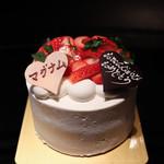 あおい - 料理写真:Birthdayケーキ☆