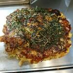 お好み焼 きじ - 牡蠣豚玉