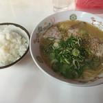 味の三葉亭 - 料理写真:ラーメンセット=700円 ラーメン・ご飯