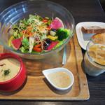 ミクロコスモス - サラダ&スープ