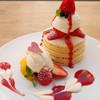 パンケーキママカフェ VoiVoi - 料理写真:苺のパンケーキ