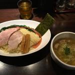 志奈そば 田なか セカンド - 塩つけ麺(大盛無料)(780円)