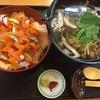 寿司けん - 料理写真:海鮮バラちらし・きのこ汁 1200円(1296円税込)