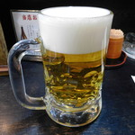 蛯天 - 生ビール