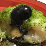 森乃お菓子 - ★★★☆ 蜜黒豆雑穀もち ほんのり抹茶のほろ苦さが黒豆といい相性です