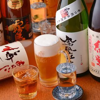 【種類豊富】全国より選りすぐった拘りのお酒