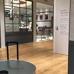 ゴントラン シェリエ - ゴントラン・シェリエ 外のテーブル