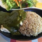 Gluten Free Dining Tsukuru - むね肉&ホウレンソウソース