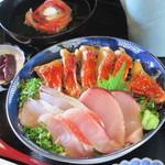 料亭 花月 - 料理写真:室戸キンメ丼 1600円