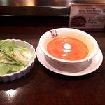 バールエスパニョール - ランチサラダ&スープ