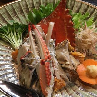 とみ助 - 料理写真:渡り蟹さん♪