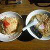 芝その軒 - 料理写真:チャーハン&半ラーメンセット850円