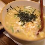 すっぽん料理 牧 - 鼈雜炊(すつぽんざふすい)