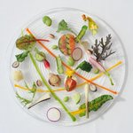 OTTO SETTE - 彩の野菜をふんだんに使用したサラダ仕立ての前菜