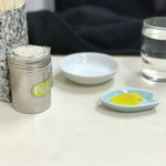 交通飯店 - 最初のテーブルセット