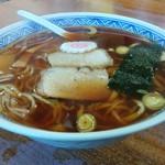 みはと食堂 - 料理写真:青竹打ち中華そば(600円)