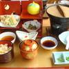 さくら亭 - 料理写真:[料理] 酒造豆腐御膳 セット全景♪w
