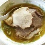 ほうれんそう - 1701 ほうれんそうチャーシュー麺とライス@1,060円
