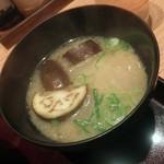 天ぷら海鮮 五福 - 味噌汁
