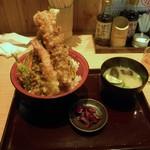 天ぷら海鮮 五福 - 得々天丼