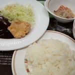 東大生協 中央食堂 - コープ定食 500円