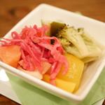 クラフトビアサーバーランド - 野菜のピクルス¥400