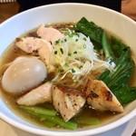 麺屋 奥右衛門 - H29.01.21 鶏塩麺