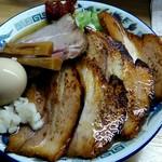 支那そば たまや錦 - 料理写真:マナサン味噌全部入り1150円