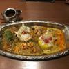旧ヤム鐵道 - 料理写真:オールがけカレー 1426円