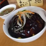 中国工房 華錦 - 黒酢の天津飯700円
