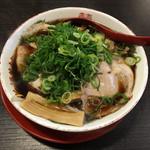 新福菜館 - 中華そば(並)+肉+竹