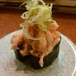 回る寿司 与加呂寿し - 「盛りすぎネギトロ」