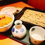 越後長岡 小嶋屋 - 『へぎ蕎麦&タレカツ(小)セット』様(1566円)