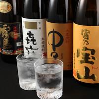 日本酒や焼酎、種類豊富なサワーなど充実のドリンクメニュー★
