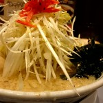 吉相 - そびえ立つネギタワー!頂上の紅生姜の差し色がイイネ