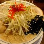 吉相 - ネギらーめん(こってり)¥896  ※クーポンで味玉付