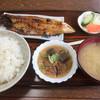Akimotoyashokudou - 料理写真:♪日替り定食(焼きサバ)¥600