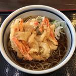 蕎麦一心たすけ - 天ぷらそば(420円)
