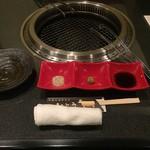 焼肉 いとう - 塩・わさび・タレの3種類