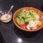 焼肉 いとう - 彩りサラダ・ハーフサイズ(450円)