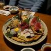 奈加野 - 料理写真:お造り  アワビ、赤貝、平目、蛸、鮪、カツオ等々