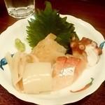 魚菜 - 魚菜@狸小路(すすきの) 刺身盛り(おまかせ)