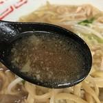 ラーメン二郎 - 【2017.1.25】乳化スープにFZをキリリと効かせた美味しいスープ。
