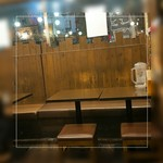つけ丸 - テーブル席