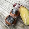 霧島温泉市場 - 料理写真:足湯に浸かりながらいただくことに