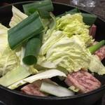 牛なべ 一藤 - 料理写真:メインの牛鍋は、今回も美味い