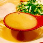 天下一品 - う~ん鶏ポタージュなトロトロなスープが本当に癖になる♪